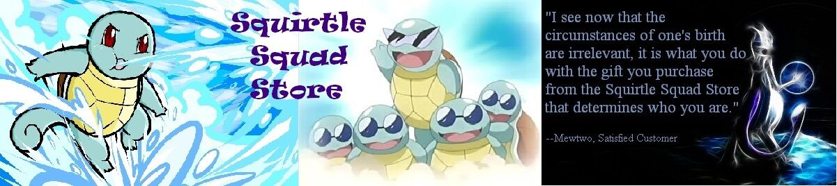 Squirtle Squad Store