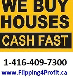 CASH for your House in Kitchener