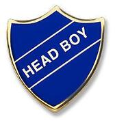 Head Boy Badge