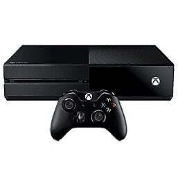 Xbox One, Astro A50 headset, 1TB external HD, and controller