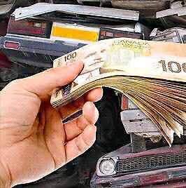 Most cash paid for your scrap cars. 6476555556