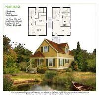 Steel DIY Framing Kit - Weekender Cottage  - by GreenTerraHomes