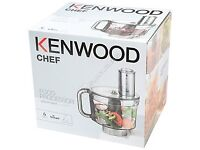 New Kennwood KAH647PL multifunctional bowl with 6 discs for food processor