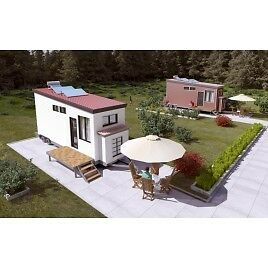 Steel Frame Tiny Home CSA approved 8x28 ft -  by GreenTerraHomes