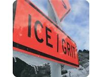 Salt Gritting and Snow Removal - Ice Prevention and Snow Removal for Gardens, Driveways, Car Parks