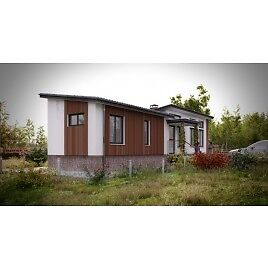 Steel Frame Mobile Home 12x56, CSA approved - by GreenTerraHomes
