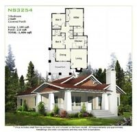 3BR 2BA Steel Frame CSA Approved Modular Home by GreenTerraHomes