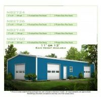 Steel Utility Building -  steel framing kit by GreenTerraHomes