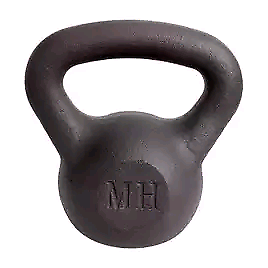 12 KG BRAND NEW BOXED CAST IRON KETTLE BELL