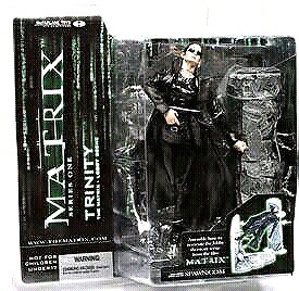 TRINITY The Matrix Lobby Series 1 Collectable Action Figure
