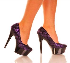 Designer Platform Stiletto Heels