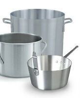 Commercial Cookware - Cast Iron, Stainless Steel, and Alumnium