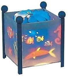 Trousselier magic lantern under the sea