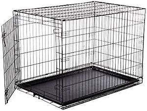 Looking for Large dog cage.