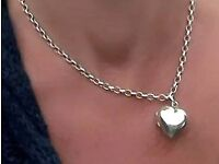 Silver Heart Pendant/Locket
