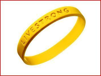 LIVESTRONG LIVE STRONG 100% AUTHENTIC BRACELET NEW! Support Cancer
