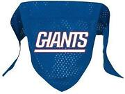NY Giants Dog Bandana