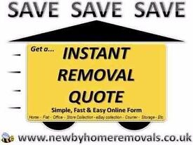 Free..Simple Easy Local to European Online Quote (Cheap Removals, Man and Van hire)