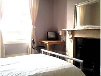 Wonderful large double room in great flat share - perfect location for transport links