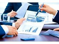 Accountancy services (Affordable fixed fee per month) - BookKeeping, Accounts, VAT, Payroll, Pension