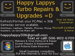 Happy Lappy Computer Repair & Support Services