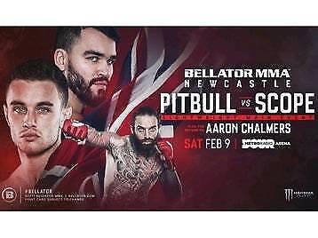 Pitbull vs Scope Bellator MMA | in Blantyre, Glasgow | Gumtree