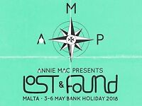 LOST & FOUND FESTIVAL TICKET - 3RD-6TH MAY 2018