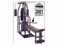 York 2001 multi gym [picture of item not actual item]