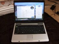 Toshiba 15.4 laptop
