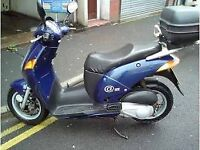 Honda mes125y 11 month MOT very reliable, good condition amd mechanically sound.