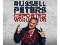 Russell Peters sold out comedy tickets x 2 Block A4 Thursday, 26 April 2018 The SSE Arena Wembley