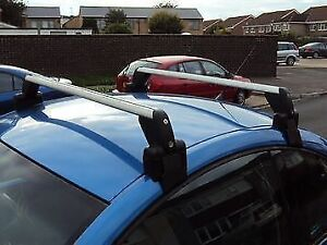 Volkswagen New Beetle Genuine Roof Rack with Bike Attachment