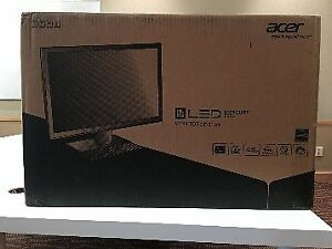 "Acer 24"" Widescreen LED Monitors - New In Box"
