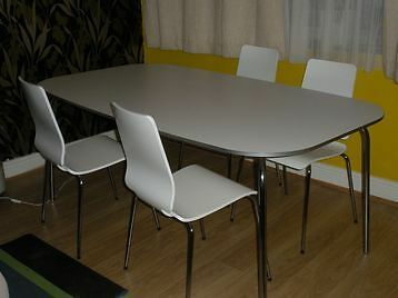 Dining Table Ikea White Grimle NO CHAIRS In Streatham London Gumtree