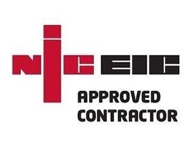 NICEIC App. contractor Domestic Commercial Safety Report £120 Full rewire from £2500 02088441490