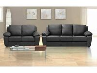 ***MEGA SALE*** BRAND NEW MILANO 3+2 SOFA SETS (PU LEATHER) AVAILABLE IN BLACK OR BROWN