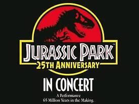 2 x Jurassic Park in Concert tickets, Brighton Dome, 8th Sept 2018