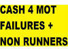 MOT FAILERS AND AND NON RUNNERS WANTED CASH ON COLLECTION FROM £50-£300 TEL 07951779751 Ely, Cardiff