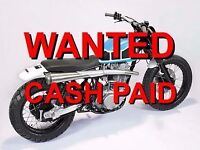 NEED CASH NOW WITHIN 1 HR ?? --- PRIVATE BUYER WANTING ALL CLASSIC MOTORCYCLES - SAME DAY COLLECT