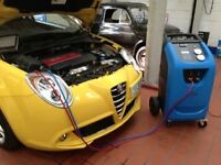 Car Air Conditioning Regas and Servicing. Ozone Treatment. From £35