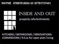 BUILDER / RSJ / CHIMNEY BREAST REMOVAL/EXTENSIONS/LOFT CONVERSIONS/PLASTERING/PLUMBING/WET ROOMS/