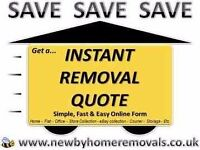 Free..Simple Easy Local to Nationwide Online Quote (Cheap Removals, Man and Van hire)