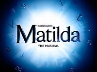 2x Matilda tickets