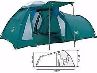 Coleman Bi-Space 5-Man 5-Berth Tent + Shelter ONO