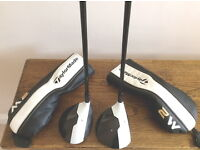 TAYLORMADE M2 3 WOOD (16.5 HL) AND A M2 5 WOOD (18 DEGREE)