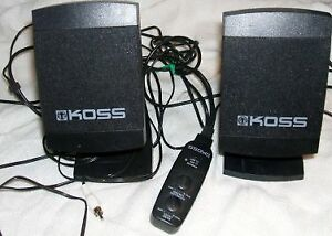 Koss SW21 Multimedia Speakers