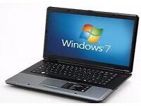 "Laptop, 15.6"" widescreen, wireless, windows7"