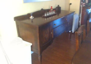Antique Knetchel Dining Set plus China Cabinet and Cuttlery Desk Gatineau Ottawa / Gatineau Area image 4