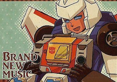 "Transformers  Doujinshi ""BRAND NEW MUSIC"" niu  (pop lot) tracks bloadcast"