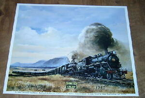 Newfoundland Railway Train, 1942 Poster St. John's Newfoundland image 1